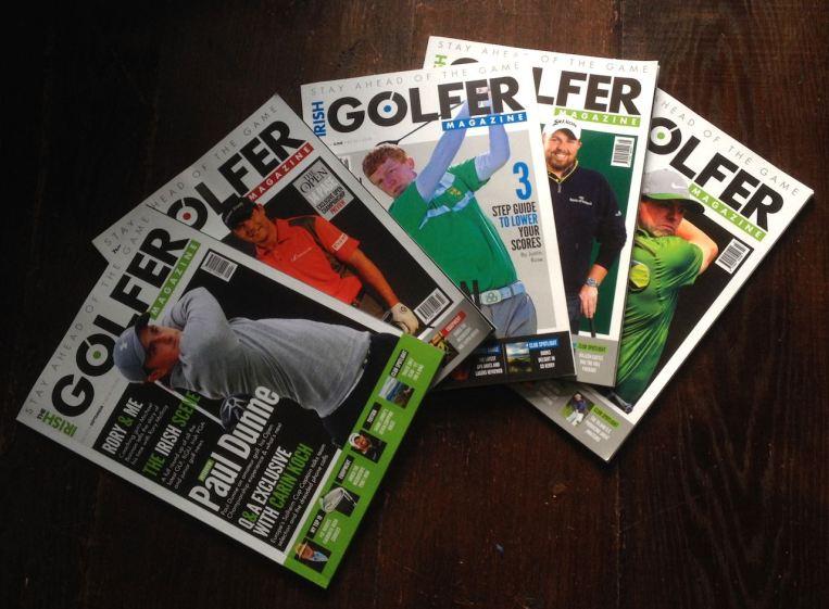 Irish Golfer 5 mag pic